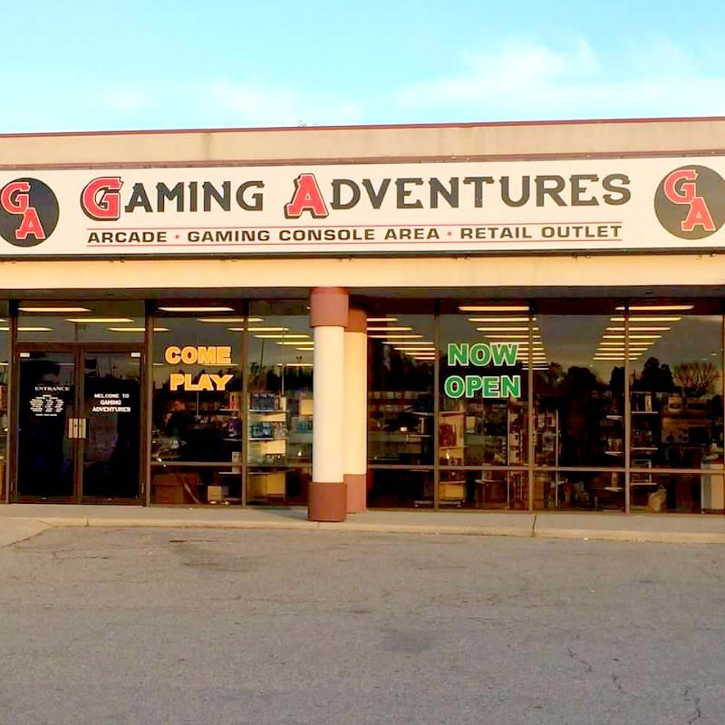 picture of Gaming Adventures arcade